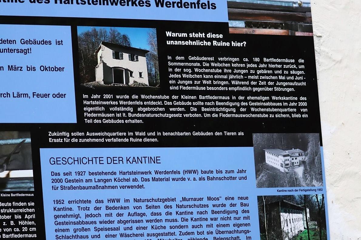 Hartsteinwerk-Kantine am Murnauer Moos
