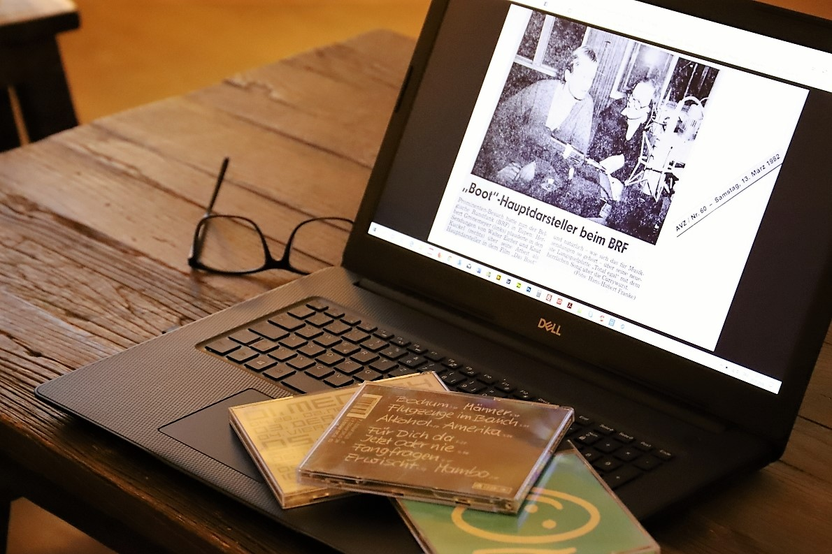 Herbert Grönemeyer war damals als Schauspieler (Das Boot) bekannt. Obwohl er als Sänger schon viele Schallplatten verkaufte. (Foto: Knut Kuckel/Hans-Hubert Franke/AVZ)