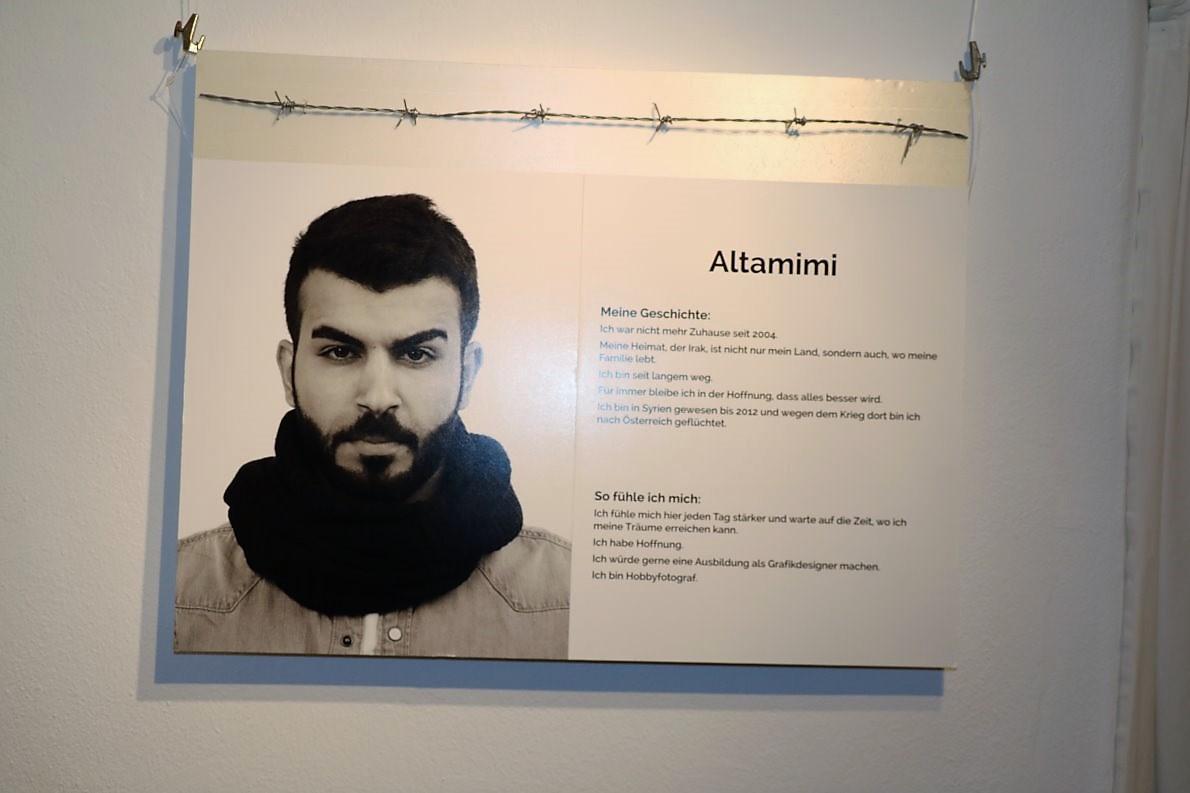 Altamimi, 2012 von Syrien nach Österreich geflüchtet.