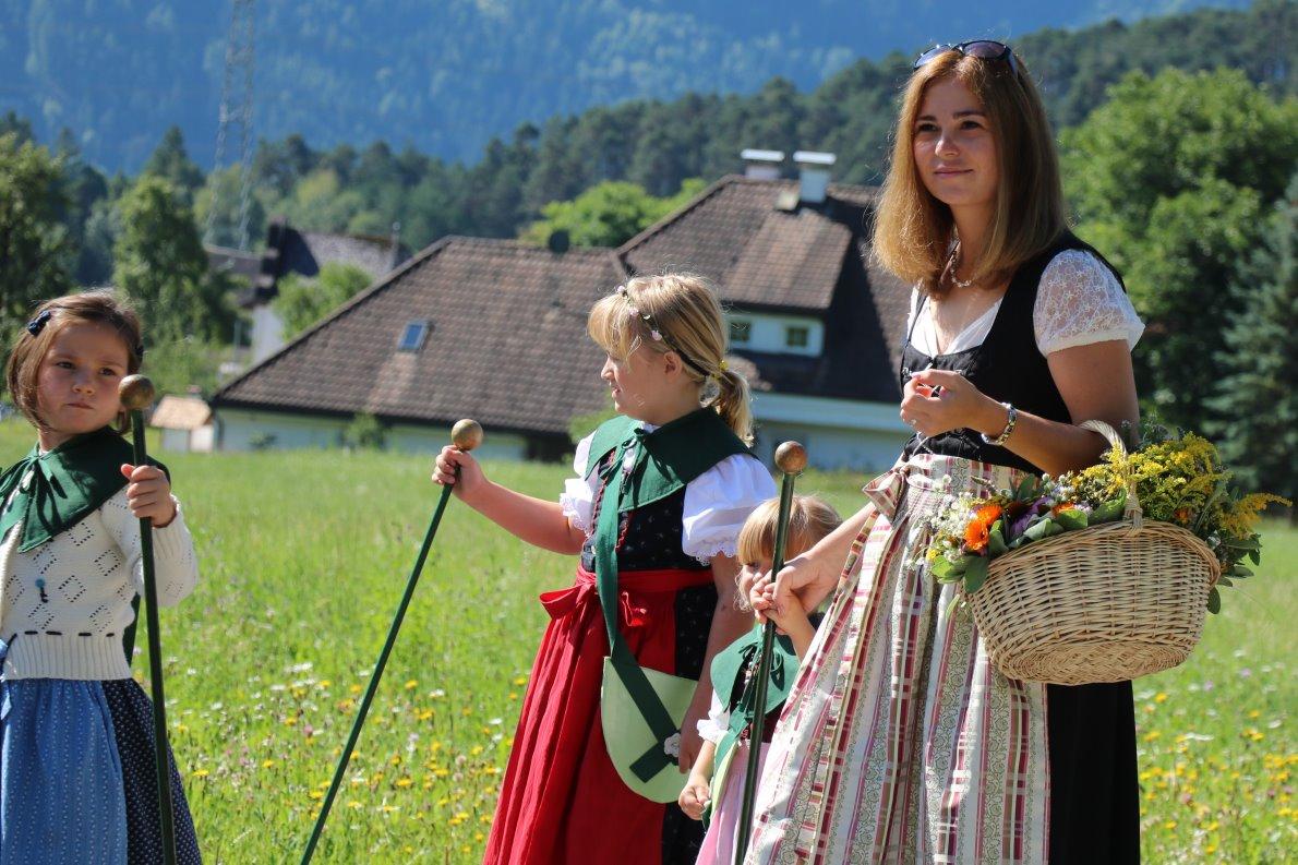 Höhepunkte an Maria Himmelfahrt sind Kräuterweihe und Prozession. (Foto: Knut Kuckel)