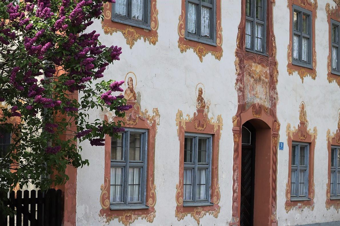 Kölblhaus,Ettaler Straße 10, Oberammergau. (Foto: Knut Kuckel)