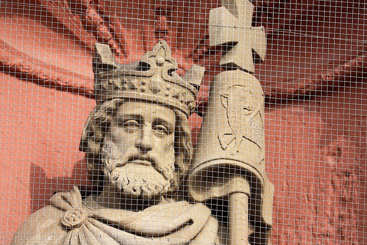 Kaiser Lothar I., Enkel Karl des Großen, wurde in Lieblingskirche der Karolinger bestattet. (Foto: Knut Kuckel)