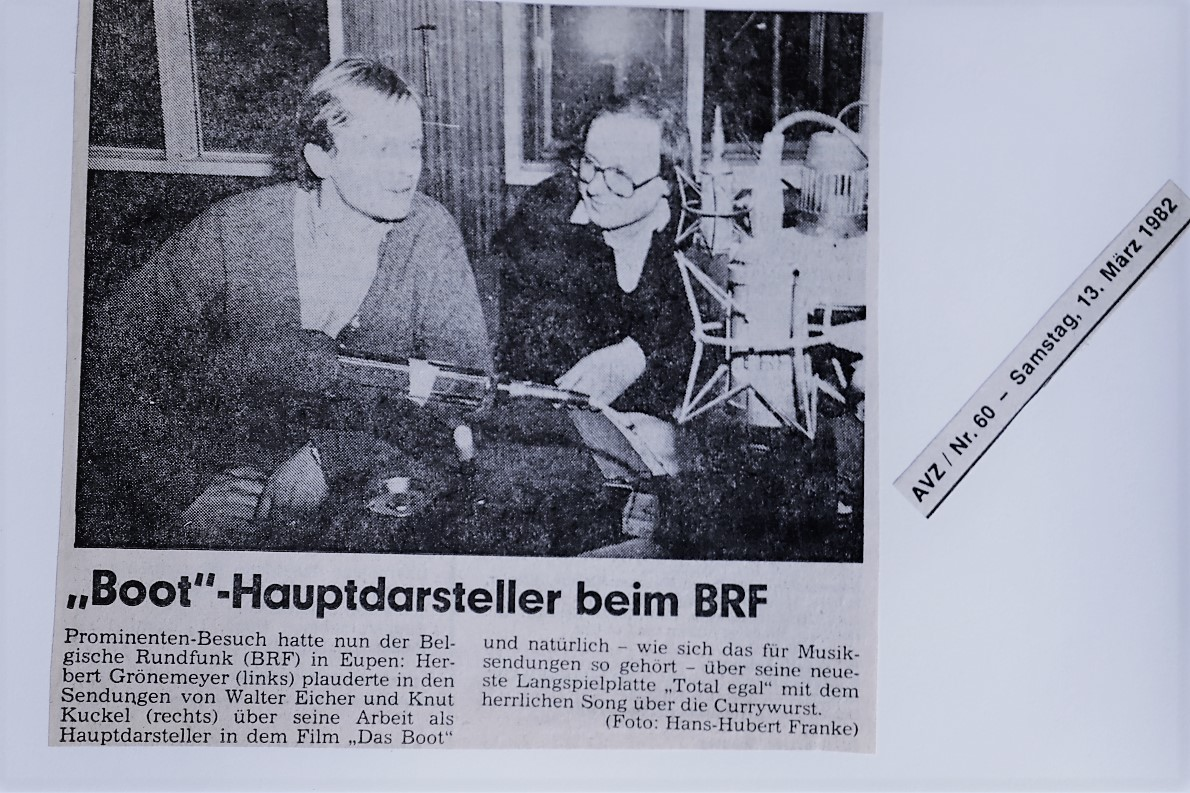 Herbert Grönemeyer beim BRF. (Foto: AVZ/Heinz-Hubert Franke/KnutKuckel)