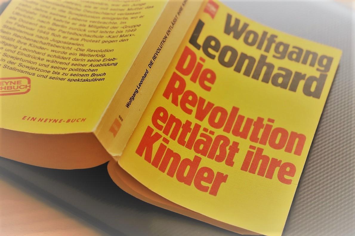 Wolfgang Leonhard, Die Revolution enläßt ihre Kinder, Heyne-Verlag, 1979. (Foto: Knut Kuckel)